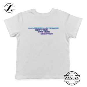 All Legend Juice Wrld Youth Shirts Music Lover Kids T-Shirt Size S-XL