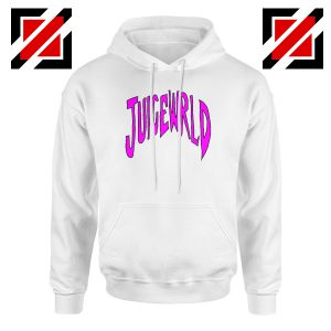 American Rapper Hoodie Juice WRLD Logo Hoodie Size S-2XL White