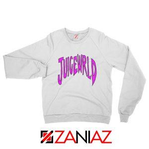 American Rapper Sweatshirt Juice WRLD Logo Sweatshirt Size S-2XL White