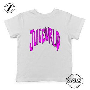 American Rapper Youth T-Shirt Juice WRLD Logo Kids Shirts White