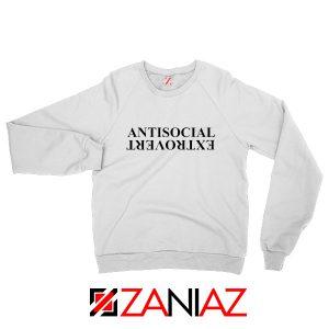 Anti Social Extrovert Sweatshirt Kendrick Lamar Sweatshirt Size S-2XL White
