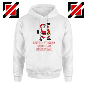 Awesome Christmas Hoodie Ugly Christmas Best Hoodie Size S-2XL White
