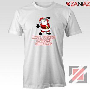 Awesome Christmas T-Shirt Ugly Christmas Tee Shirt Size S-3XL White