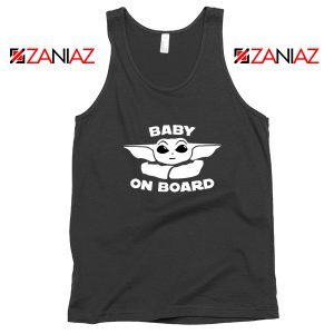 Baby On Board The Mandalorian Tank Top Baby Yoda Tank Top