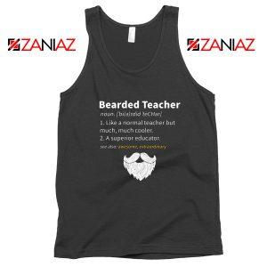 Bearded Teacher Tank Top Male Teacher Gifts For Him Tank Top