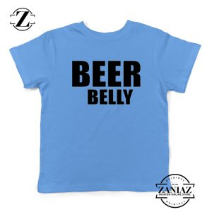 Beer Belly Funny Saying Kids Shirts Funny Gym Youth T-Shirt Size S-XL