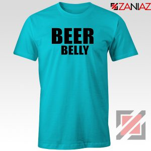 Beer Belly Funny Saying T-Shirt Funny Gym Tee Shirt Size S-3XL
