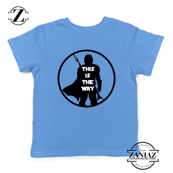 Boba Fett This Is The Way Youth Shirt Star Wars Merch Kids Tee Shirt