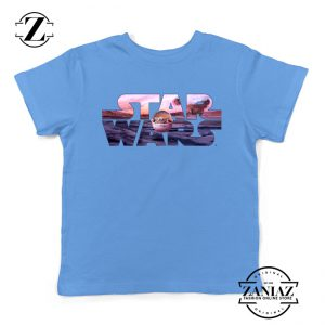 Buy Best Star Wars The Child Youth Shirts Character Film Kids T-Shirt