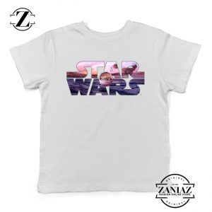 Buy Best Star Wars The Child Youth Shirts Character Film Kids T-Shirt White