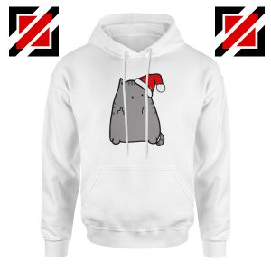 Buy Christmas Kitty Hoodie Ugly Christmas Best Hoodie Size S-2XL White