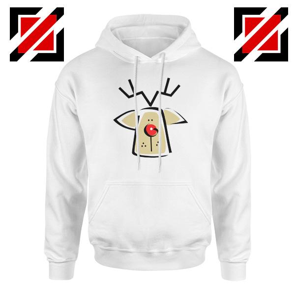 Buy Christmas Reindeer Hoodie Ugly Christmas Hoodie Size S-2XL White