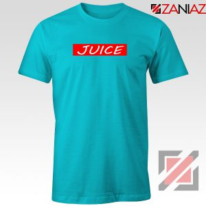 Buy Juice T-Shirt American Rapper Tee Shirt Size S-3XL Light Blue