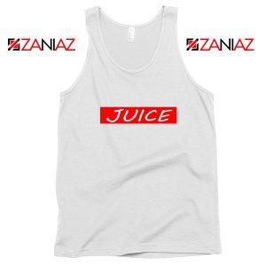 Buy Juice Wrld Tank Top American Rapper Tank Top Size S-3XL White