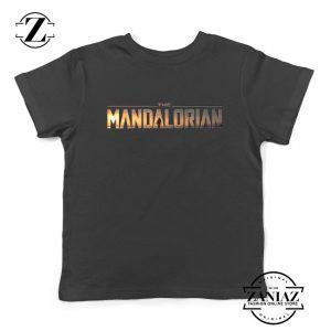 Buy Mandalorian Logo Kids Shirts Star Wars Best Youth T-Shirt Size S-XL