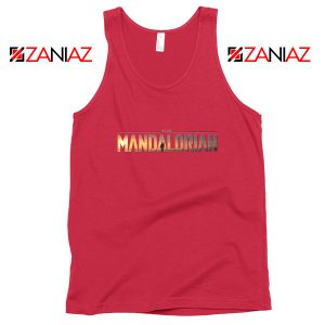 Buy Mandalorian Logo Tank Top Star Wars Best Tank Top Size S-3XL Red