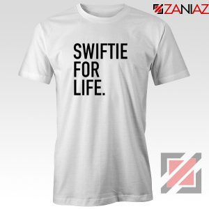 Buy Swiftie For Life T-shirt Reputation Lyrics Best Tee Shirt Size S-3XL White