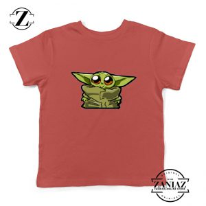 Buy The Child Cute Baby Yoda Star Wars Best Gift Kids Tee Shirt Size S-XL Red