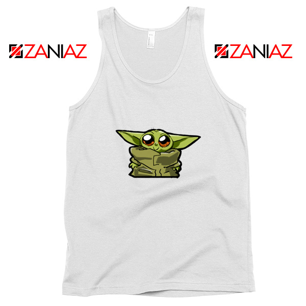 Buy The Child Cute Baby Yoda Star Wars Best Tank Top Size S-3XL White
