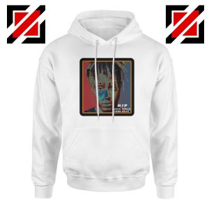 Cheap RIP Wrld Hoodie Hip Hop Music Hoodie Size S-2XL White