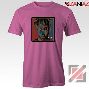 Cheap RIP Wrld Tee Shirts Hip Hop Music T-Shirt Size S-3XL Pink