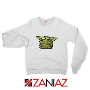 Cheap The Child Cute Baby Yoda Star Wars Best Sweatshirt Size S-2XL White