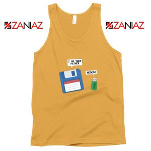 Computer Tech USB Father Tank Top Floppy Disk Tank Top Size S-3XL Sunshine