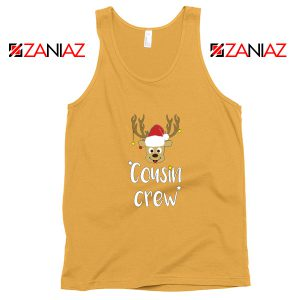 Cousin Crew Tank Top Family Christmas Tank Top Size S-3XL Sunshine