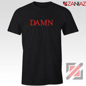 DAMN Album T-Shirt Kendrick Lamar Tee Shirt Size S-3XL Black