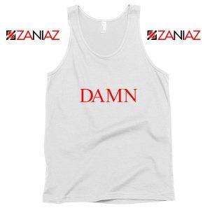 DAMN Album Tank Top Kendrick Lamar Tank Top Size S-3XL White