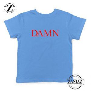 DAMN Album Youth Shirts Kendrick Lamar Kids T-Shirt Size S-XL