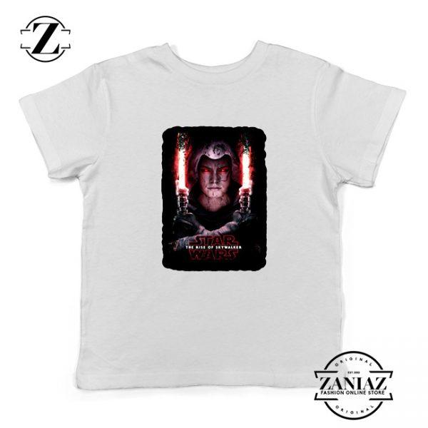 Dark Side Star Wars Kids T-Shirt The Rise Of Skywalker Youth Shirts White