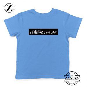 Death Race For Love Youth Shirts Juice Wrld Kids T-Shirt Size S-XL