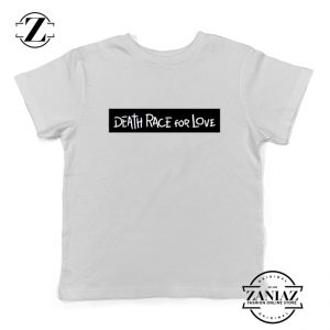 Death Race For Love Youth Shirts Juice Wrld Kids T-Shirt Size S-XL White