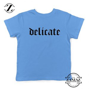 Delicate Lyrics Youth Shirts Taylor Swift Best Kids T-shirt Size S-XL