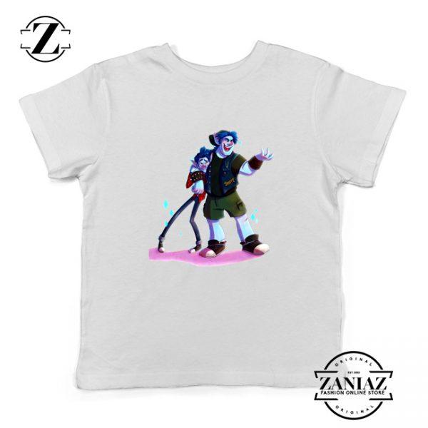 Disney Onward Film Kids T-Shirt Barley Lightfoot Youth Shirts Size S-XL