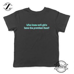 Evil Girls Kids T-Shirt Juice Wrld Rapper Youth Shirts Size S-XL