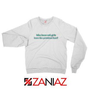 Evil Girls Sweatshirt Juice Wrld Rapper Sweatshirt Size S-2XL White