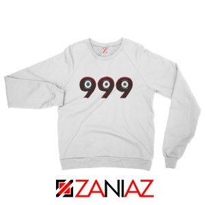 Hiphop 999 Music Sweatshirt Juice Wrld Sweatshirt Size S-2XL White