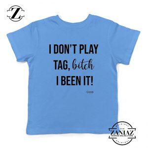 I Don't Play Tag Lizzo Lyrics Youth Shirt Truth Hurts Kids Tshirt Size S-XL