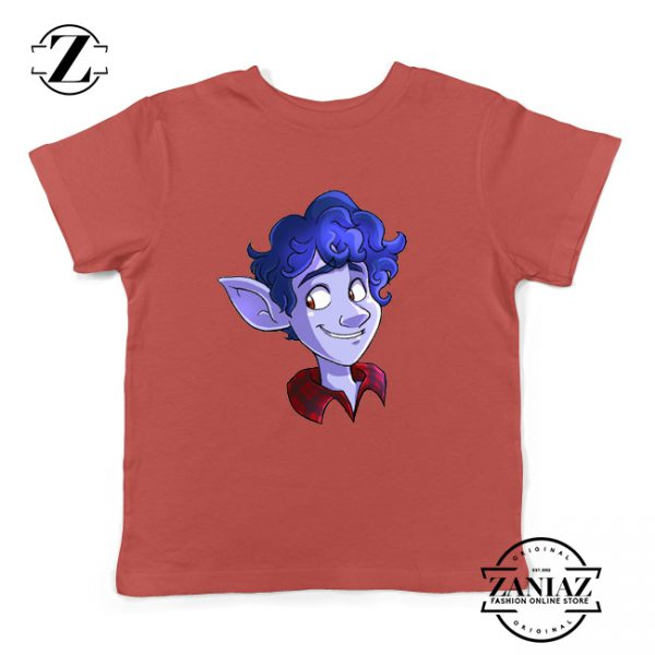 Ian Lightfoot Disney Youth T-Shirt Pixar Studios Film Kids T-Shirt Size S-XL Red