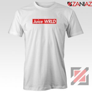 Juice WRLD Box Logo T-Shirt Supreme Parody T-Shirt Size S-3XL White