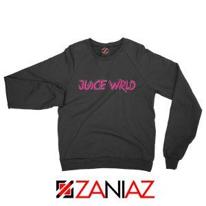 Juice WRLD Logo Pink Sweatshirt Rapper Hiphop Sweatshirt Size S-2XL