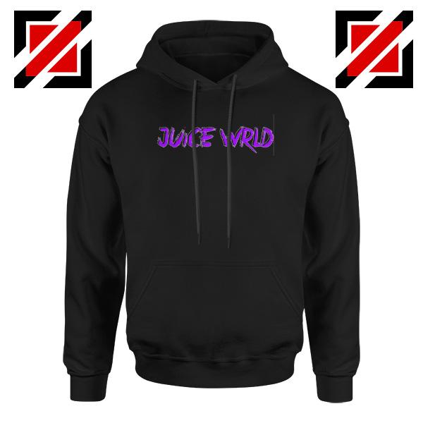 Juice WRLD Purple Logo Hoodie Hiphop Music Hoodie Size S-2XL
