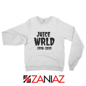 Juice WRLD RIP Sweatshirt Women Music Sweatshirt Size S-2XL White