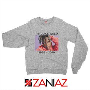 Juice WRLD Tour Sweatshirt Best Music Sweatshirt Size S-2XL Sport Grey