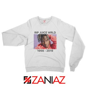 Juice WRLD Tour Sweatshirt Best Music Sweatshirt Size S-2XL White