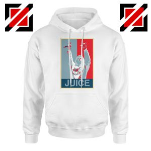Juice World Concert Hoodie Music Lover Hoodie Size S-2XL White
