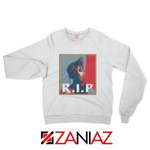 Juice World RIP Sweatshirt Rapper Music Sweatshirt Size S-2XL White