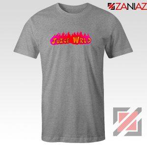 Juice Wrld Fire T-Shirt Best American Singer Tee Shirt Size S-3XL